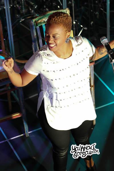 Chrisette Michele SOBs Album Release Show 2013-1