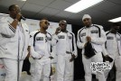 "Blackstreet Performing ""No Diggity"" Live in the 2013 Essence Music Festival Press Room"