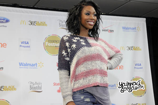 Brandy Essence Festival Press Room 2013-1