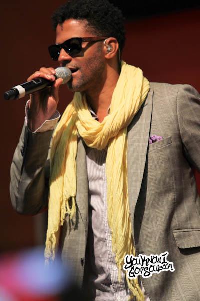 Eric Benet Essence Music Festival 2013-2