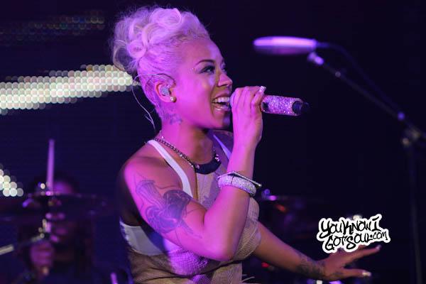 Keyshia Cole Essence Music Festival 2013-1