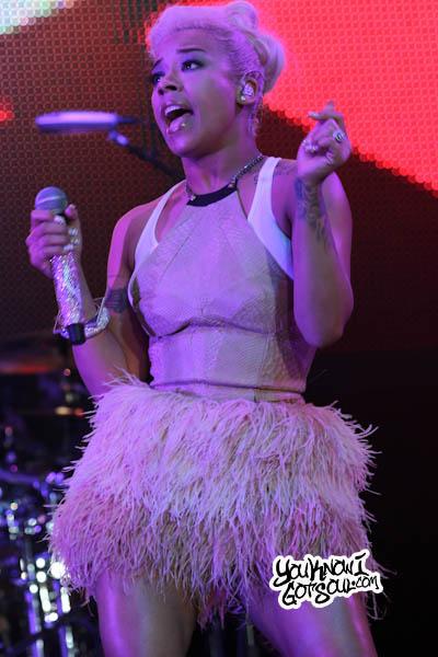 Keyshia Cole Essence Music Festival 2013-2