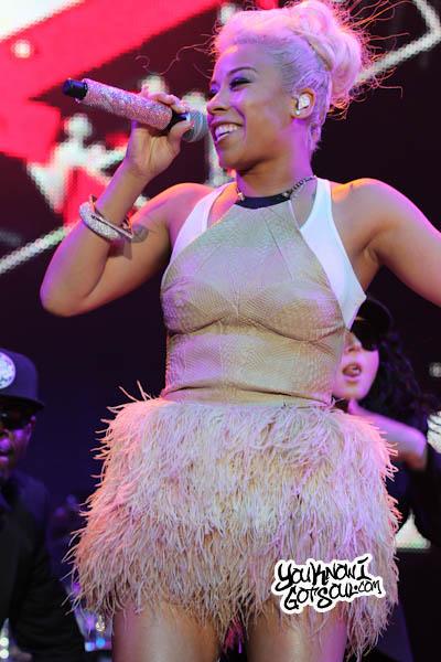 Keyshia Cole Essence Music Festival 2013-5