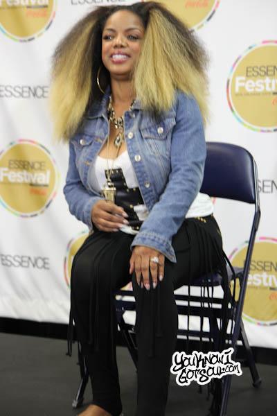 Leela James Essence Music Festival 2013-1
