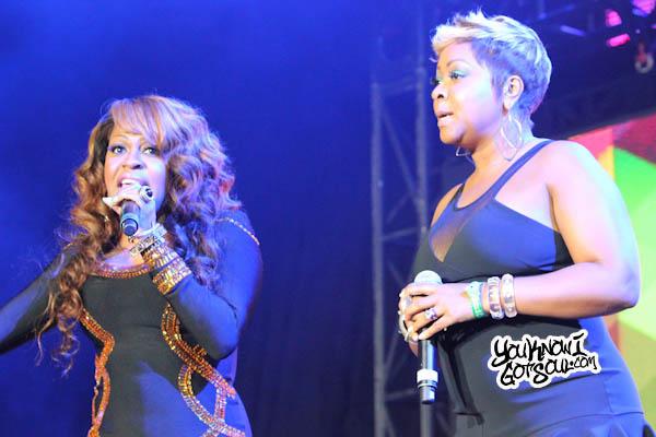 Lil Mo Monifah Chante Moore Essence Music Festival 2013-1