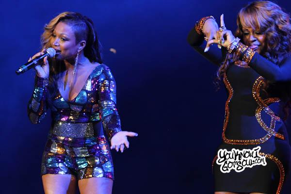 Lil Mo Monifah Chante Moore Essence Music Festival 2013-4