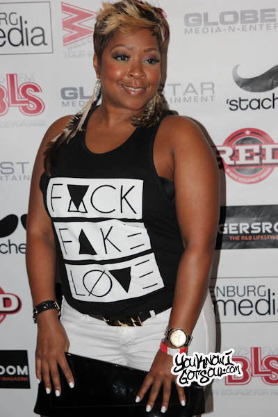 Monifah Joe Album Release Stage 48 2013-1