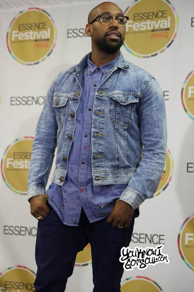 PJ Morton Essence Music Festival 2013-1
