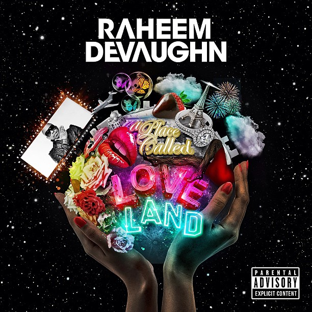 Raheem DeVaughn A Place Called Loveland Album Cover