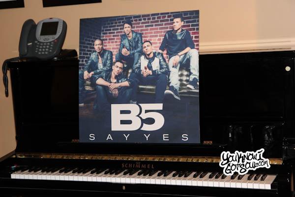 B5 Press Event Universal Records 2013-1