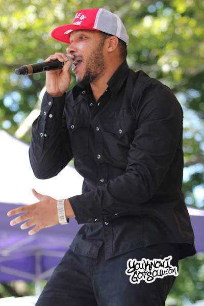 Lyfe Jennings Central Park Summerstage 2013-2