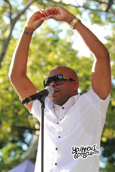 Raheem DeVaughn Central Park Summerstage 2013-2