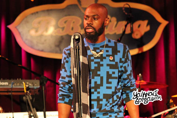 Mali Music BB Kings 2013 1 Event Recap & Photos: Mali Music & Raheem DeVaughn Perform at B.B. Kings in NYC 10/8/13