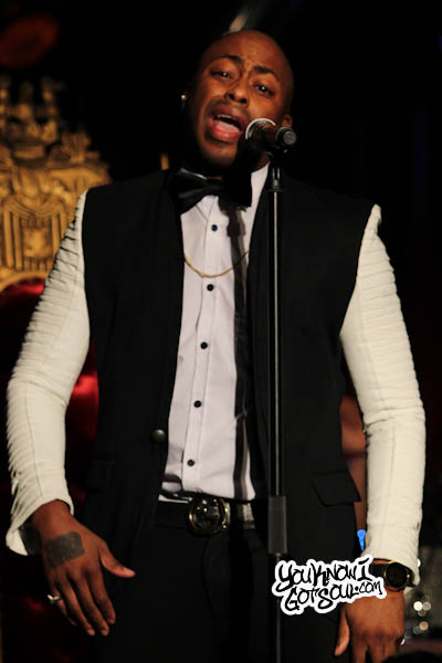 Raheem DeVaughn BB Kings 2013-10