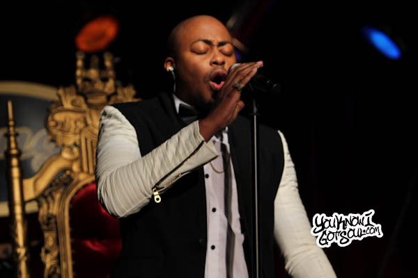 Raheem DeVaughn BB Kings 2013 7 Event Recap & Photos: Mali Music & Raheem DeVaughn Perform at B.B. Kings in NYC 10/8/13