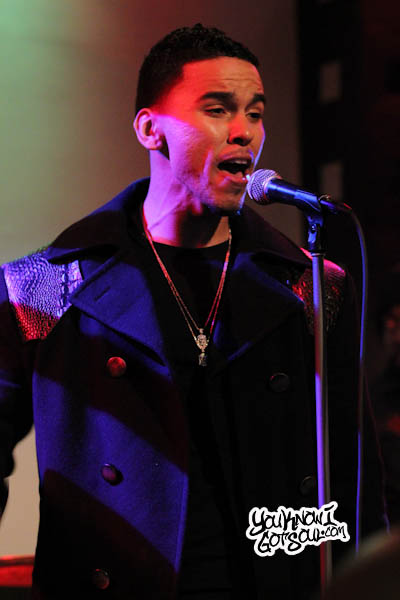 Adrian Marcel BET Music Matters SOBs Dec 2013-2