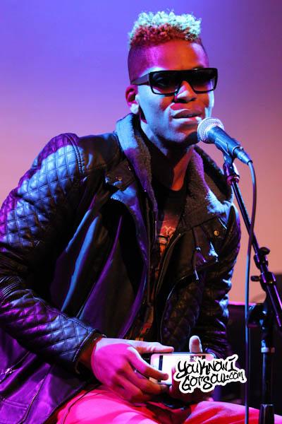 Curtis Fields BET Music Matters SOBs Dec 2013-2