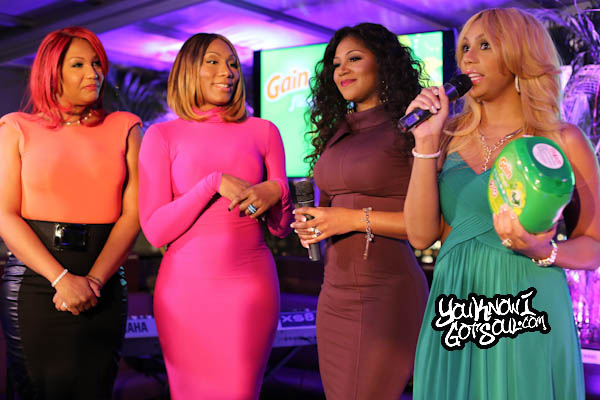 Tamar Braxton The Braxtons Gain Event Empire Hotel 2014-2