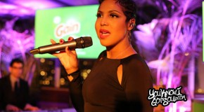 "Toni Braxton Performing ""Hurt You"" Solo at Gain ""Flings"" Launch Event in NYC 1/23/14"