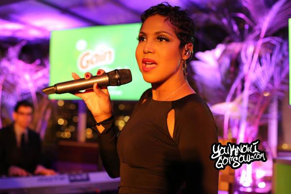 Toni Braxton Gain Event Empire Hotel 2014-2