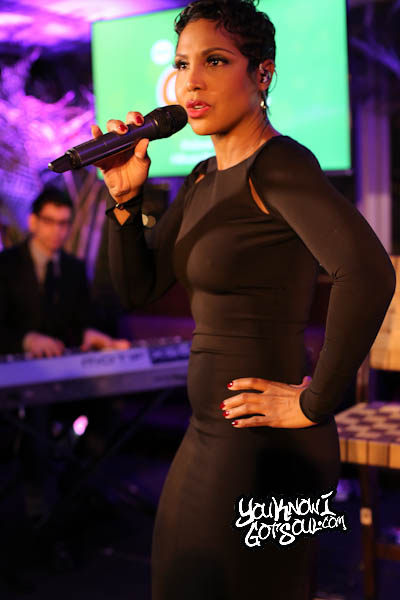 Toni Braxton Gain Event Empire Hotel 2014-5