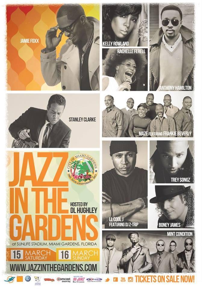 Jazz In The Gardens 2014