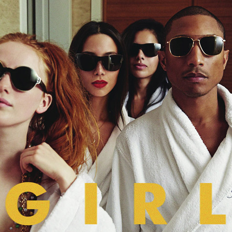 pharrell G I R L Album Review: Pharrell Williams, G I R L (4 stars out of 5)