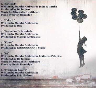 Marsha Ambrosius FVCK&Love EP Back