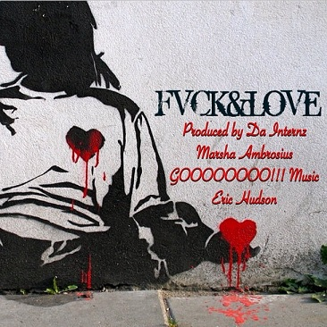 Marsha Ambrosius FVCK&Love EP Front