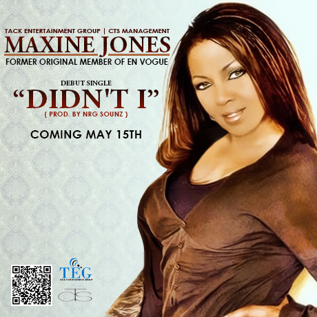 Maxine Joes Didnt I Former En Vogue Member Maxine Jones Ready to Embark on Solo Career