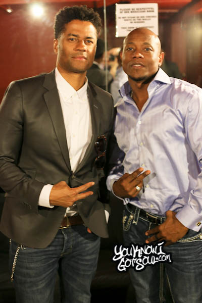 Eric Benet Calvin Richardson Sol Village April 2014-1