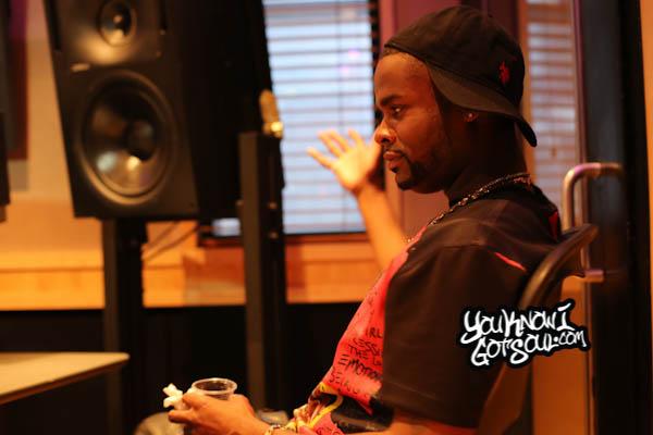 Shaliek Blood Sweat Tears Album Listening Quad Studios 2014-1