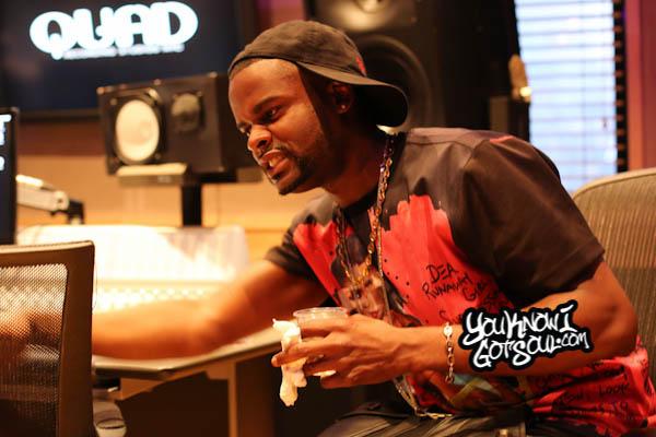 Shaliek Blood Sweat Tears Album Listening Quad Studios 2014-2