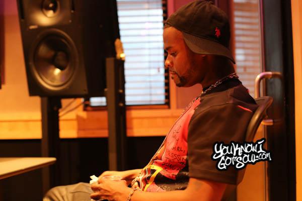 Shaliek Blood Sweat Tears Album Listening Quad Studios 2014-3