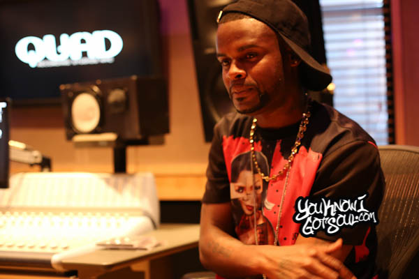 Shaliek Blood Sweat Tears Album Listening Quad Studios 2014-4