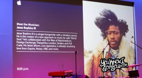 Recap & Photos: Jesse Boykins III Performs at the Apple Store Soho 6/20/14