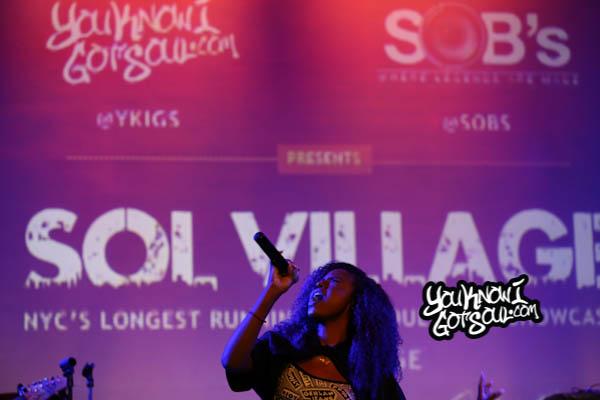 Justine Skye Sol Village June 2014-2