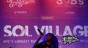 Recap & Photos: Sol Village featuring Justine Skye, Shaliek, John Michael & Ebony Joi 6/18/14