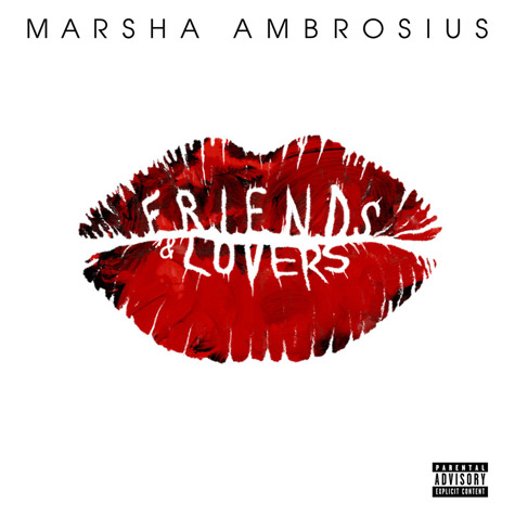 Marsha Ambrosius Friends and Lovers Marsha Ambrosius Releases Cover Art & Release Date for New Album Friends & Lovers