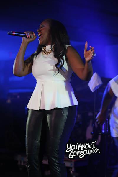 Coko Clemons SWV Essence Music Festival 2014-1