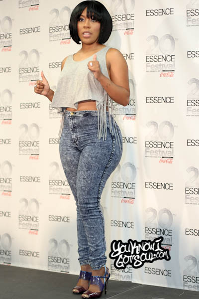 K. Michelle Essence Music Festival 2014-1