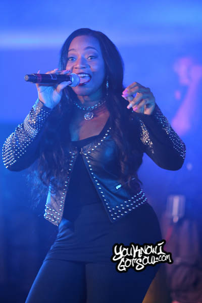 Leelee Lyons SWV Essence Music Festival 2014-2