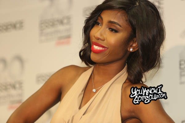 Sevyn Streeter Essence Festival Press Room 2014 Day 4-1