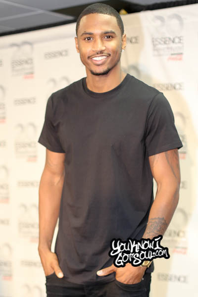 Trey Songz Essence Music Festival 2014-1