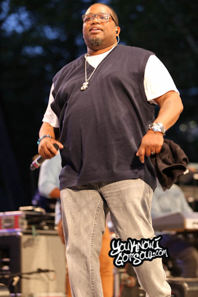 Dave Hollister Summerstage R&B Fest 2014-2