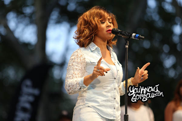 Erica Campbell Summerstage R&B Fest 2014-2