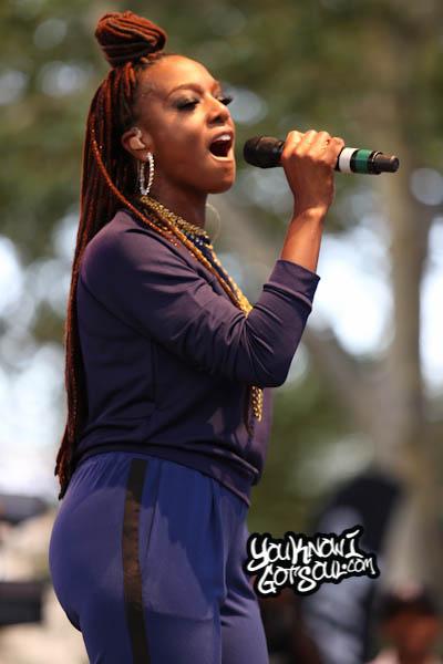 Joi Starr Summerstage R&B Fest 2014