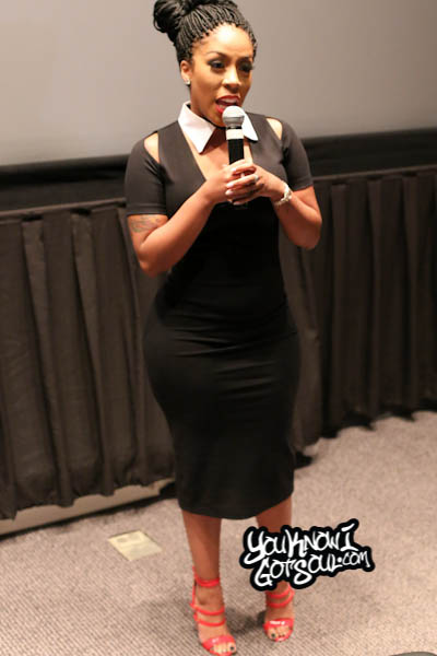 K. Michelle Rebellious Soul The Musical Screening 2014