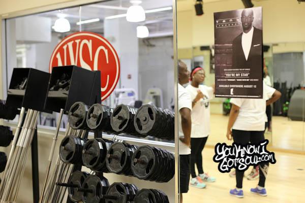 Tank Stronger U Press Fitness Workout 2014-2