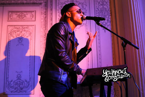 Luke Christopher Bowery Poetry Club Showcase 2014
